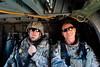 5 DEC 2011 - OSC-I Chief and NTM-I Commander LTG Robert L. Caslen, Jr. and OSC-I CSM George Manning conduct a Town Hall Meeting with other OSC-I leaders in Kirkuk, Iraq.  Photo by John D. Helms - john.helms@iraq.centcom.mil.