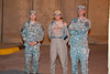 17 DEC 2011 - NTM-I End of Training Mission Post-Ceremony Medal Parade.  BLDG One Patio, FOB Union III, Baghdad, Iraq.  Photo by John D. Helms - john.helms@iraq.centcom.mil.