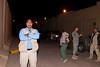 8 DEC 2011 - OSC-I Chief and NTM-I Commander LTG Robert L. Caslen, Jr. and RADM Ed Winters meet with sLTG Al Awadi in Baghdad, Iraq.  Photo by John D. Helms - john.helms@iraq.centcom.mil.