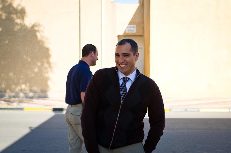 21 DEC 2011 - Embassy Attache Annex, Baghdad, Iraq. Photo by John D. Helms - john.helms@iraq.centcom.mil.