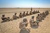30 JUL 2011 - DCGC in Besmaya, Iraq with LTG Ferriter (USF-I DCG A&T) and sGEN Mohan to observe M1A1 tank and howitzer training.  U.S. Army photo by John D. Helms - john.helms@iraq.centcom.mil.