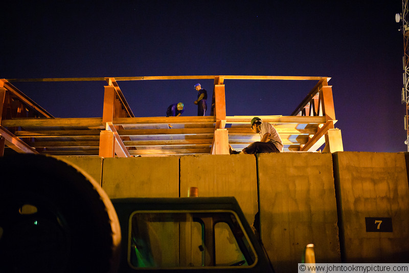 12 JUL 2011 - Construction improvements at Robert Hernandez Dining Facility, FOB Union III, Baghdad, Iraq. Photo by John D. Helms - john.helms@iraq.centcom.mil.