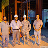 7 AUG 2011 - Last night of construction improvements at Robert Hernandez Dining Facility, FOB Union III, Baghdad, Iraq. Photo by John D. Helms - john.helms@iraq.centcom.mil.