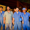 8 AUG 2011 - Last night of construction improvements at Robert Hernandez Dining Facility, FOB Union III, Baghdad, Iraq. Photo by John D. Helms - john.helms@iraq.centcom.mil.