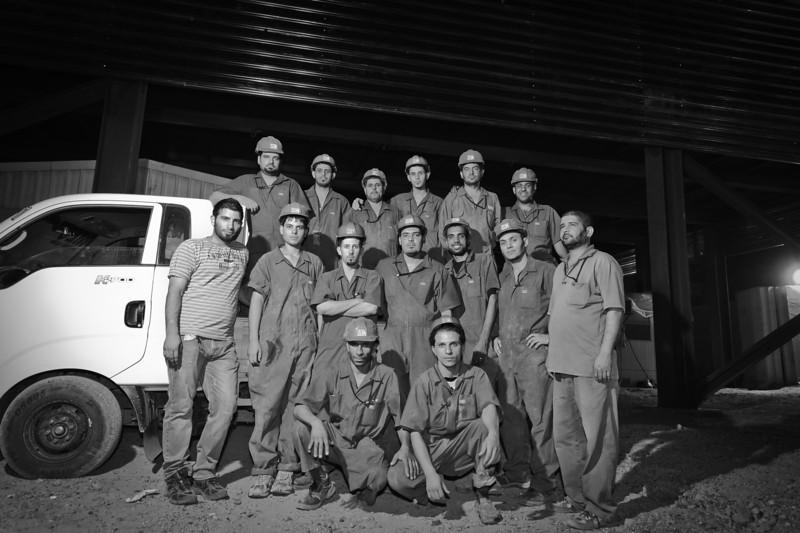 8 AUG 2011 - Last night of construction improvements at Robert Hernandez Dining Facility, FOB Union III, Baghdad, Iraq. Photo by John D. Helms - john.helms@iraq.centcom.mil.