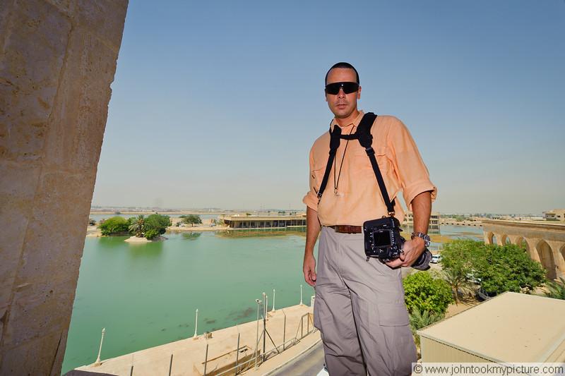22 AUG 2011 - Al-Faw Palace visit with LTG Ferriter (USF-I DCG A&T), Victory Base Complex, Baghdad, Iraq. U.S. Army photo by MAJ Patrick Flynn.