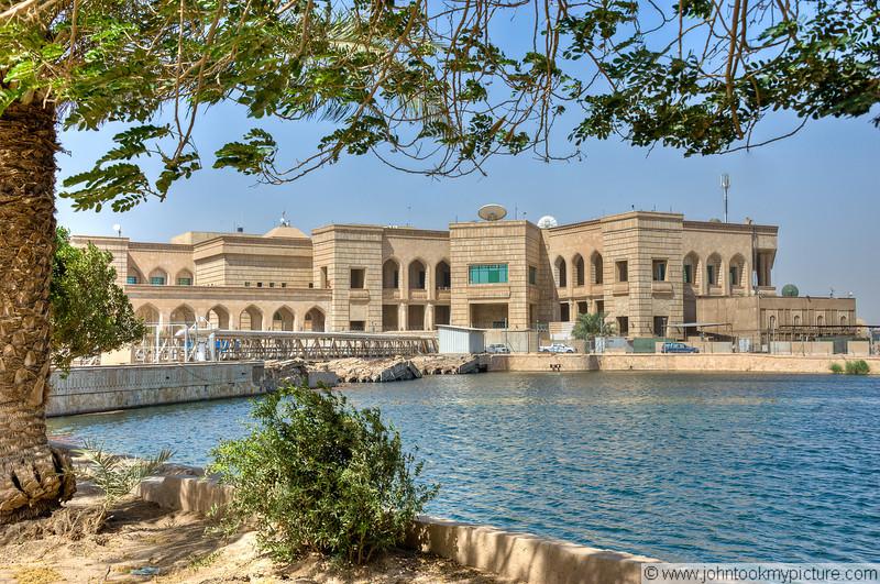 3 JUN 2011 - Visiting Al-Faw palace, Baghdad, Iraq.  Photo by John D. Helms.