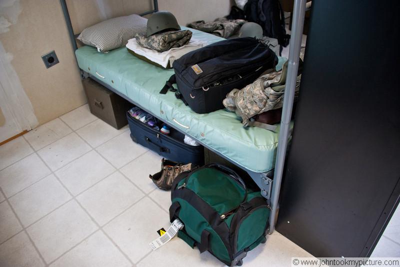 Bunk room at training