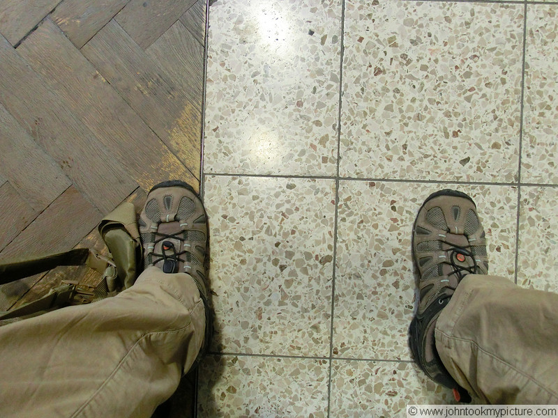 Looking at the floor in Germany