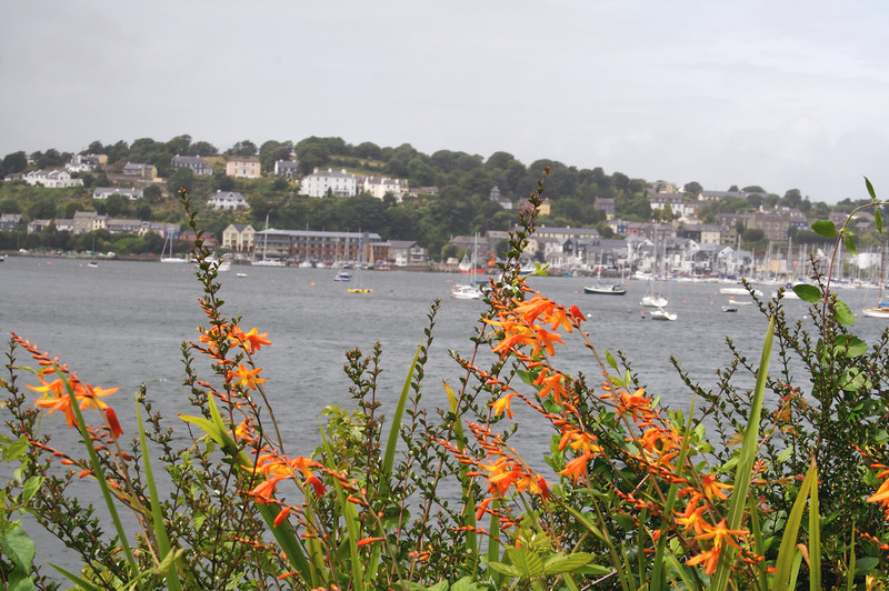 The fishing town of Kinsale, site of an historic battle