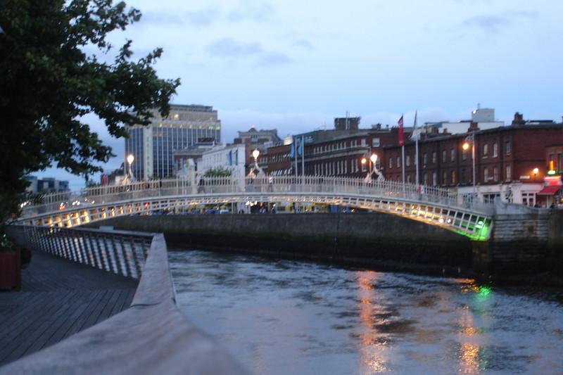 My last night in Dublin
