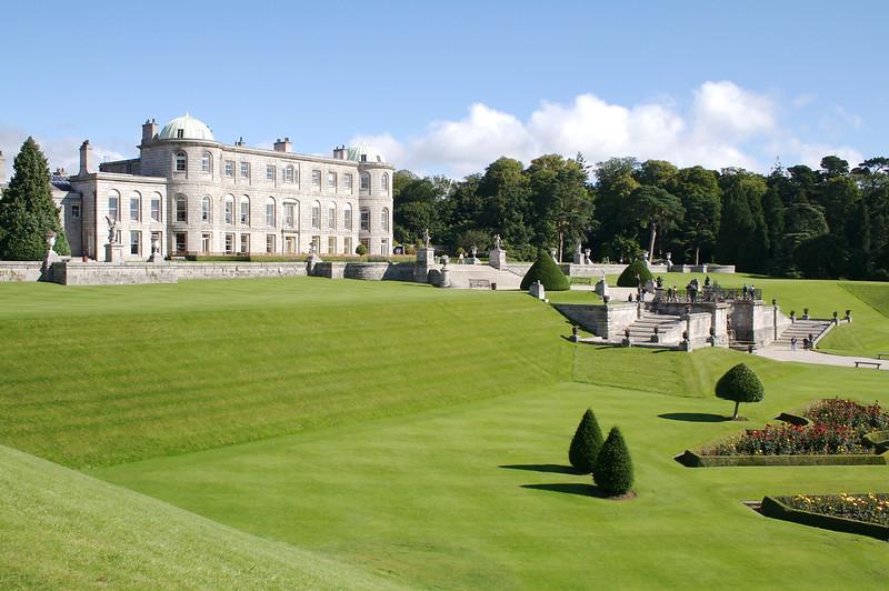 The gardens at Powerscourt