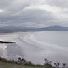 The Dingle peninsula and the sea - in fact the Atlantic ocean.