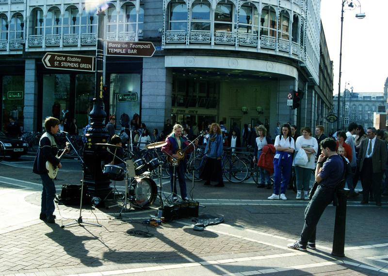 Dublin Street Buskers