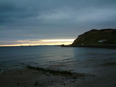 Ballygally - Sunrise over the Irish Sea