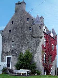 Ballygally - Castle-Hotel where we stayed the night