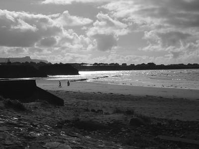 Bundoran - Dusk on the beach
