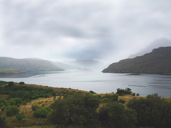 Connemara Country - Killary Harbour (Ireland's only fjord)