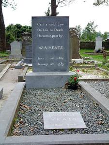 Drumcliff - Grave of W.B. Yeats, famous Irish poet