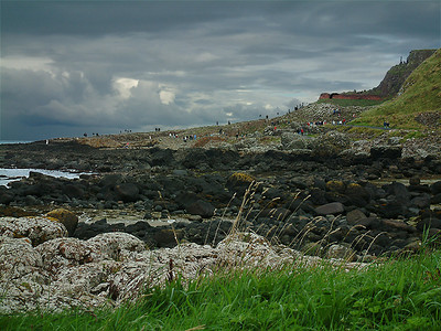 Giant's Causeway - Dramatic Panorama