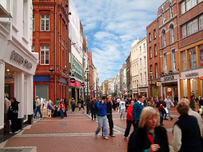 Dublin - Grafton Shopping Street