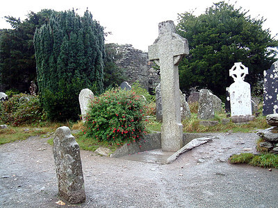 Glendalough - Celtic Cross of Ste-Catherine 2
