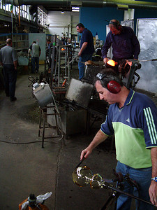 Waterford - Crystal making 1