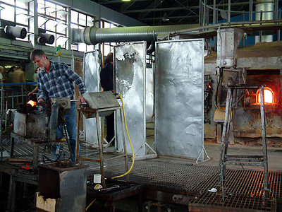 Waterford - Crystal making 2