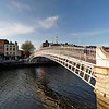 River Liffey, Ha'penny Bridge, Dublin
