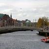 River Liffey, Ha'penny Bridge, Dublin