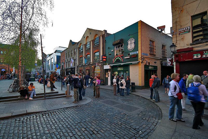 Temple Bar district, Dublin