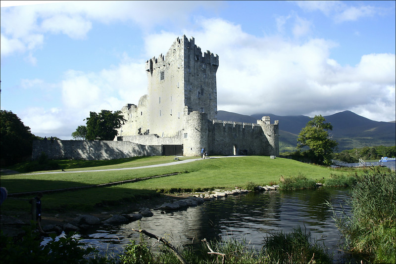 0137 Ross Castle (circa 1536) , on Lough Leane, Ireland
