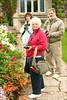 0156 Sandy, Ellen & Frank, the Garden at Muckross House, Ireland
