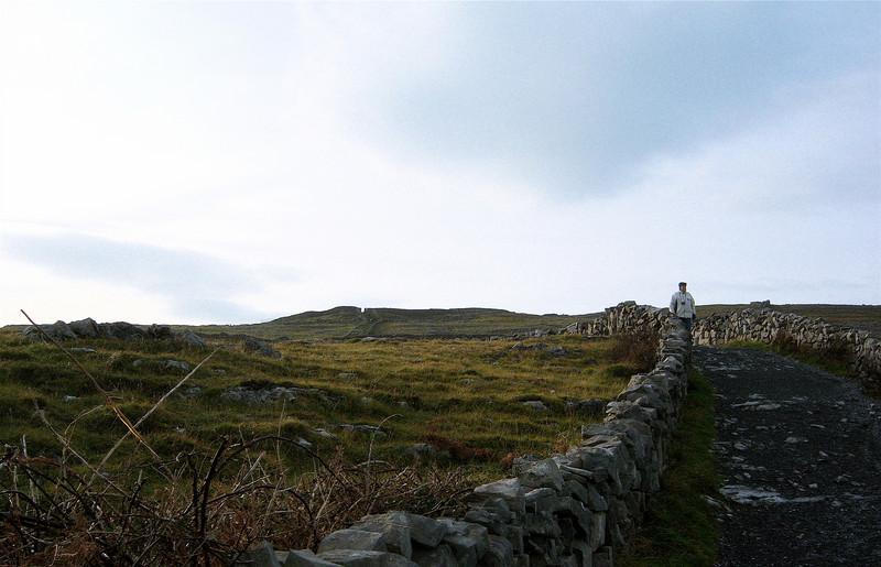 My Dad on Inishmaan Island, 2007