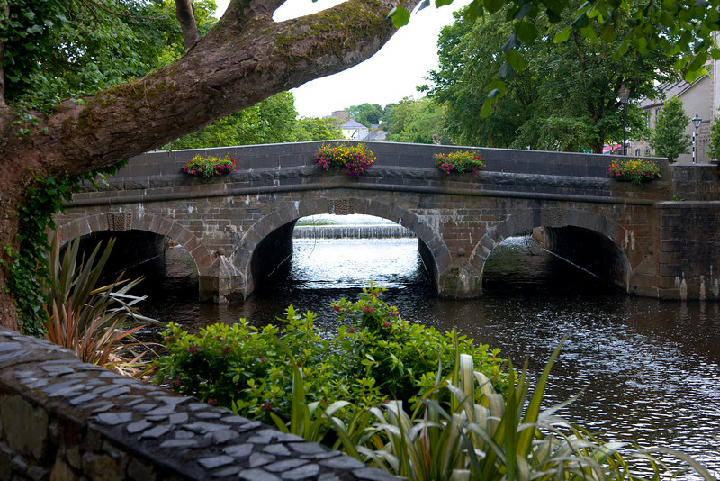 We returned that evening to Westport.  This is the river walk to the mall on Carrow Beg.