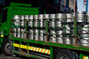 The next morning we started out on foot to tour a bit of Dublin.  This Henieken truck was pulling up the pub next to the Temple Bar Hotel to drop off some breakfast items.