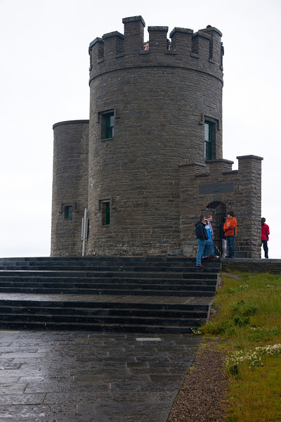 We walked up to the tower and had a look about.