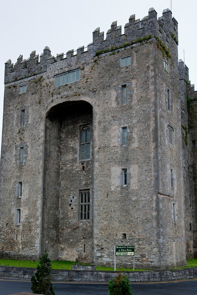 Bunratty Castle was literally next to Durty Nelly's; the property, a type of theme park, stretched back for 26 acres.