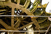 This is the water wheel that ran all the machines in the distillery.