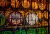 This is a shot of the barrel storage where the whiskey ages in used sherry or american whiskey (bourbon) barrels.  We finished our tour with a taste of Kilbeggan Irish Whiskey then on our way to Dublin where we checked into the Temple Bar Hotel.