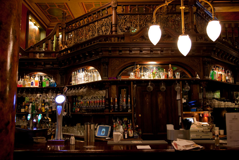 Our first stop in Galway was the Skeffington Arms Hotel to appreciate the woodwork in the pub and to have a pint.