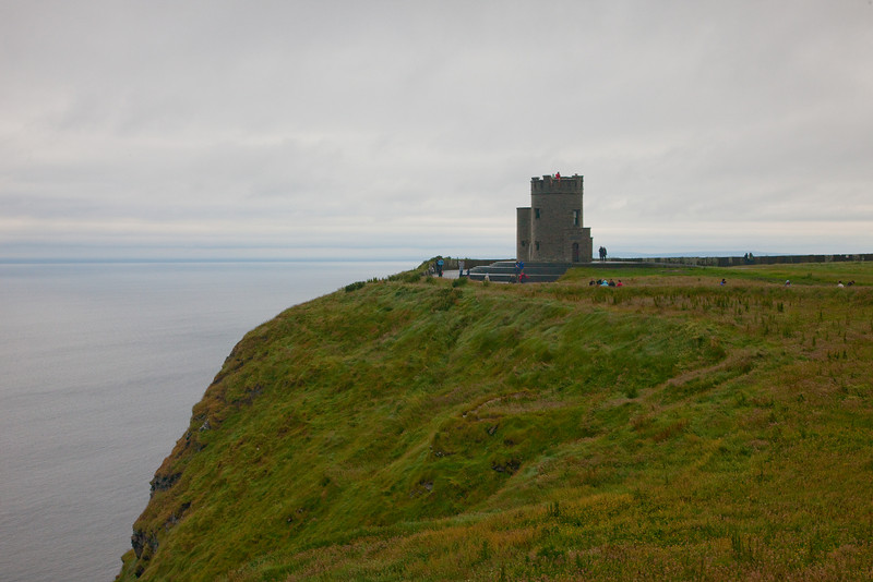This was a look out tower at the Cliffs of Moher.