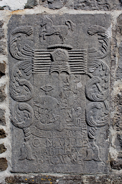 Detail from the Abbey wall.