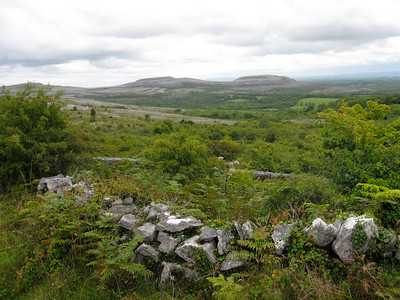 Riding into the Burren