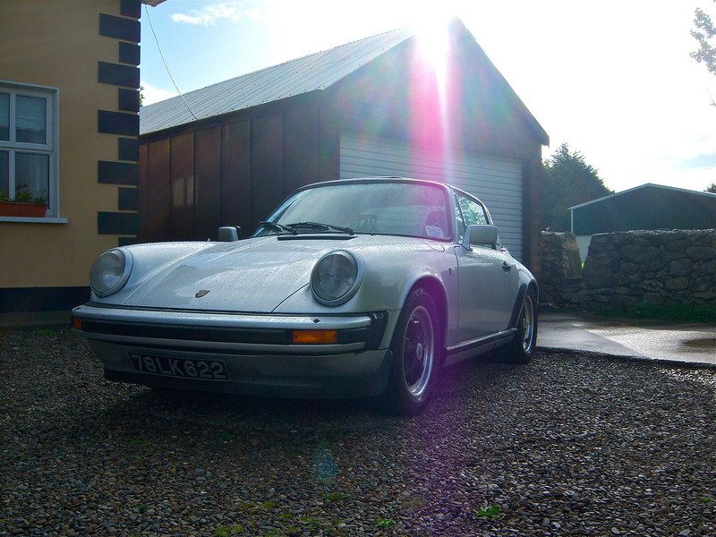 Picking up the 1978 Porsche 911SC for a 3 day rental
