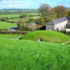From the top of Knowth mound