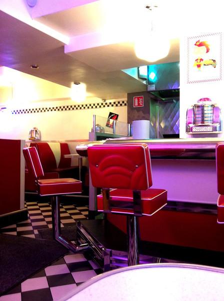 1950s diner in Ireland