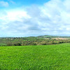 Panoramic from top of Knowth mound