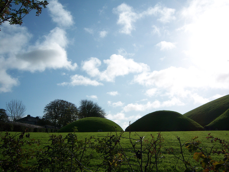 Knowth mounds