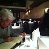 Ordering dinner in an excellent Chinese place in Cork